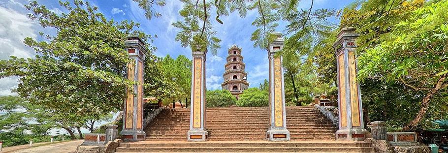 Thuyết minh về ngôi chùa Thiên Mụ - Cổ tự xứ Huế