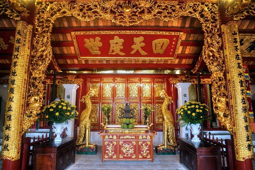 Thuyết minh về biểu tượng văn hóa tâm linh của Hà Nội - Đền Ngọc Sơn