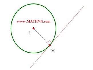 công thức đường tròn